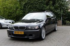 BMW e46 320i touring with a M3 engine. Check it out!