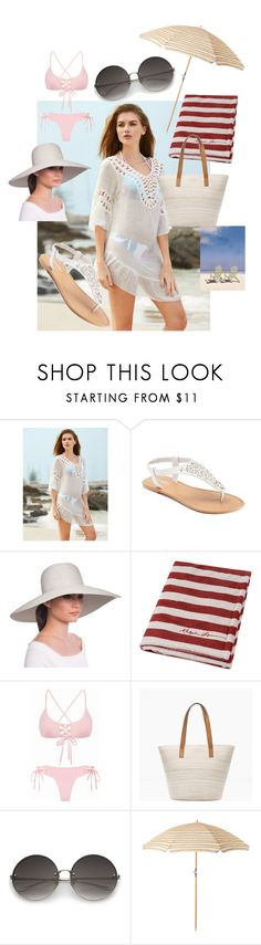 """""""Untitled #18"""" by sibonokuhlemathe ❤ liked on Polyvore featuring SONOMA Goods for Life, Eric Javits, Ralph Lauren Home and Chico's"""