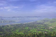 La vue est plutôt sympathique du côté de Panchgani, en Inde.