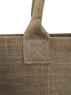"""Résultat de recherche d'images pour """"cabas ana cuca"""" - My CMS Burlap Bags, Jute Bags, Bag Patterns To Sew, Sewing Patterns, Diy Handbag, Craft Bags, Denim Bag, Fabric Bags, Sewing Techniques"""