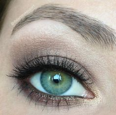 Soft brown smokey eye. This is how I do my eye makeup, when I wear full makeup, all the time.