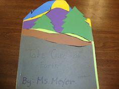 Earth Day shape book idea