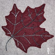Quilt Inspiration: Free Pattern Day ! Autumn Leaves