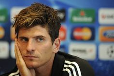 Bayern Munich hope to welcome back Mario Gomez for Saturday's showdown with Bayer Leverkusen with the hot-shot striker looking to Mario Gomez, Handsome Football Players, Soccer Players, Germany Team, German National Team, Team Player, Athletic Men, Tottenham Hotspur, Boyfriend Material