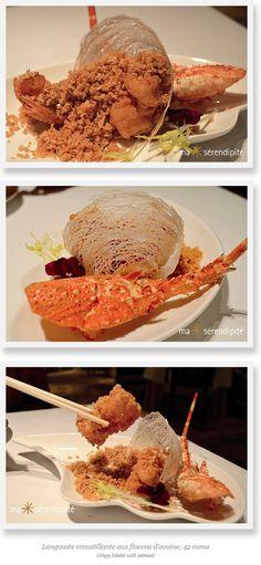 Spécialité de Hong Kong par le Chef Mok Kit Keung (2*) du Kowloon Shangri-La Hotel, Hong Kong, invité du SHANG PALACE (1*), restaurant du Shangri-La Hotel, Paris, du 19 au 30 mars 2015.