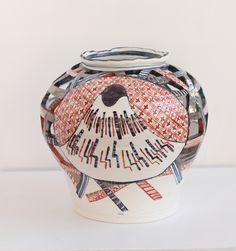 Nagasaki, Ceramics, Gallery, Red, Ceramica, Pottery, Roof Rack, Ceramic Art, Porcelain