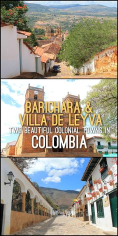 A quick look at Villa de Leyva and Barichara, two of the most beautiful colonial towns in Colombia.