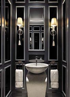 Dark and Moody Bathrooms-13-1 Kindesign