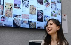 Pinterest software engineer Cindy Zhang is photographed in the offices of Pinterest in San Francisco, Calif., on Wednesday, March 22, 2017. (Dan Honda/Bay Area News Group)