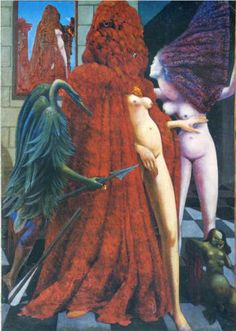 The Robing of the Bride - Max Ernst