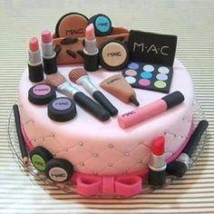 girly girl birthday cake