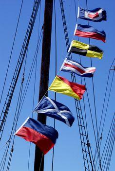 Lunenburg Signal Flags by DrWatts, via Flickr