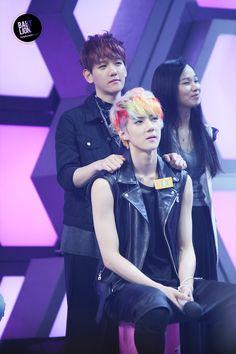 Baekhyun and Sehun / EXO