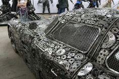 #carro #carros #coleção #reciclado #sucata #metal #ferro-velho