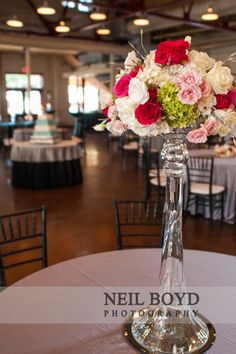 Beautiful flowers from Watered Garden in Raleigh Wedding