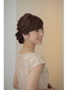 【参考になる】結婚式・お呼ばれ・パーティー 髪型・ヘアアレンジ・スタイルカタログ画像一覧 - NAVER まとめ