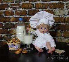 **PREORDER** Mini Ofelia doll kit by Olga Auer
