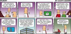 Your boss will soon be a robot - Dilbert by Scott Adams