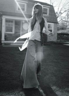 Publication: Vogue Australia March 2015 Model: Julia Stegner Photographer: Christine Centenera Fashion Editor: Benny Horne