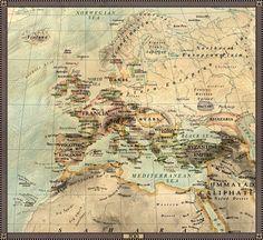 Europe in 700 by JaySimons.deviantart.com on @deviantART