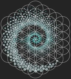 Tattoo Geometric Mandala Sacred Geometry Design 44 Ideas For 2019 Tattoo Geometric . Sacred Geometry Patterns, Fractal Geometry, Geometric Symbols, Sacred Geometry Tattoo, Nature Geometry, Geometric Flower, Flower Mandala, Geometric Art, Mandala Art