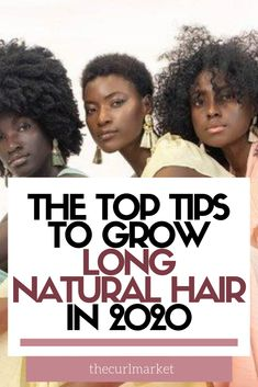 Natural hair growth is possible in 2020 with these natural hair rules to grow long natural hair. Otherwise, your twists and twistouts, wash n go, braids, and other natural hairstyles and protective styles will be useless and won't be beneficial to your natural hair journey. Your natural hair care routine needs these natural hair tips to grow long natural hair in 2020!
