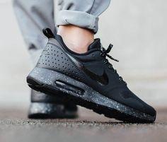 NIKE Air Max Tavas SE #black #metallic #sneakers