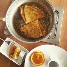 Creppes suzette