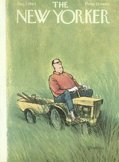 The New Yorker - Saturday, August 3, 1963 - Issue # 2007 - Vol. 39 - N° 24 - Cover by : Charles Saxon