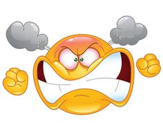Illustration about Illustration of angry emoticon cartoon. Illustration of emoticon, neurosis, illustration - 29404932