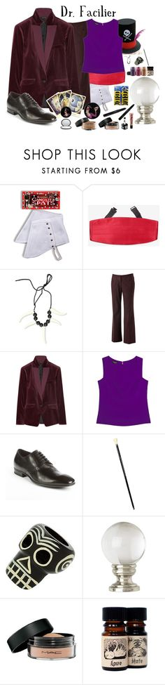 """""""Dr. Facilier"""" by jleigh329 ❤ liked on Polyvore featuring Apt. 9, rag & bone, Narciso Rodriguez, HUGO, Traits, Miss Selfridge and Disney"""