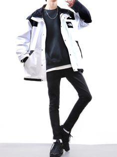 Korean Street Fashion, Korea Fashion, Asian Fashion, Urban Fashion Girls, Korean Fashion Men, Mens Fashion, Streetwear Mode, Streetwear Fashion, Fashion Poses