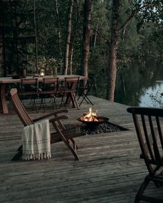 Outdoor Spaces, Outdoor Living, Outdoor Decor, Outdoor Life, Indoor Outdoor, Villa, Forest House, Scandinavian Home, Interior Design Inspiration