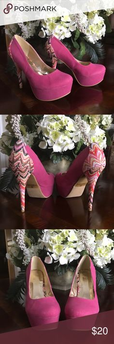 "Journee Collection Size 8.5 Platform Heels Never worn, 5"" Heel Journee Collection Shoes Platforms"