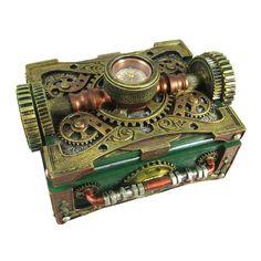 Steampunk Trinket / Jewelry Box