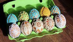 Háčkovanie k Veľkej noci - Page 3 of 3 - NÁVODY NA HÁČKOVANIE Crochet Table Runner, Easter Crochet, Easter Crafts, Creative Inspiration, Diy And Crafts, Crochet Patterns, Mexican, Eggs, Holiday