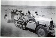 Citroen Half Track that travelled through the Sahara desert.