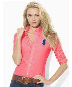 LADIES SHIRT C-PONY -RL