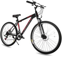Merax 26 inch Dual Disc Brakes 21 Speed Hardtail Mountain Bike Men And Women's Bike, Black Single Speed Mountain Bike, Folding Mountain Bike, Full Suspension Mountain Bike, Mountain Bike Shoes, Mountain Bicycle, Mountain Biking, Mountain Bike Reviews, Best Mountain Bikes, Mountain Bike Accessories