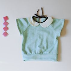 T-shirt blouse.  Sewing inspiration.  Love the colors.