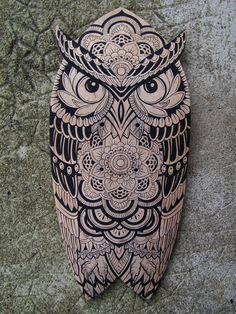 Concept - Owl Skate @Kosart