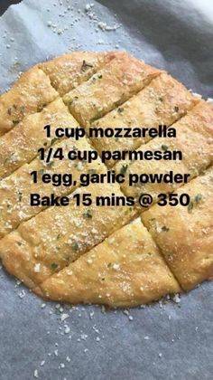 Gluten free easy bread sticks Ketogenic Recipes, Low Carb Recipes, Non Carb Foods, Bread Recipes, Fast Recipes, No Carb Diets, Healthy Recipes, Healthy Meals, Healthy Food