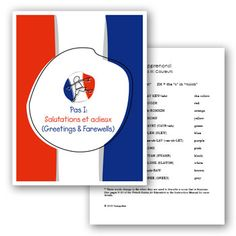 Early Childhood French Lesson Plans and Curriculum for Preschoolers and Pre-K to help Teachers Teach French