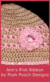 Crochet Beanie & Hat Patterns for Cancer Chemo Treatment