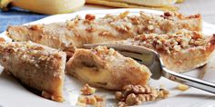 Banány v palacinkovom ceste - Receptár French Toast, Oatmeal, Recipies, Chicken, Breakfast, The Oatmeal, Recipes, Morning Coffee, Rolled Oats