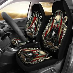 Jack And Sally Car Seat Covers 2 Floor Mats Nightmare