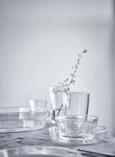 New IKEA VIKTIGT glassware