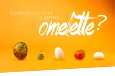 Omelette | Food Photography on Behance