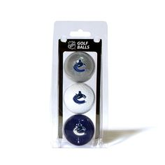 Vancouver Canucks 3 Ball Pack