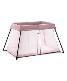 Look what I found on #zulily! Pink Light Travel Crib by BabyBjörn #zulilyfinds